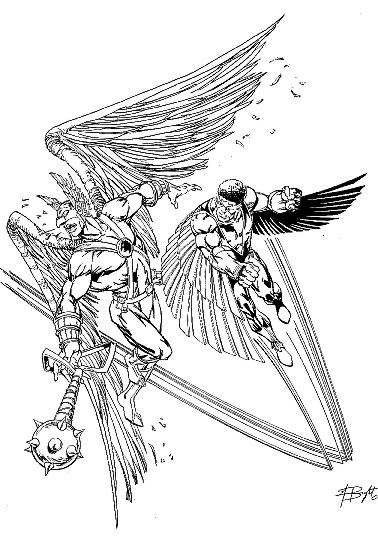 marvel falcon coloring pages - photo#11